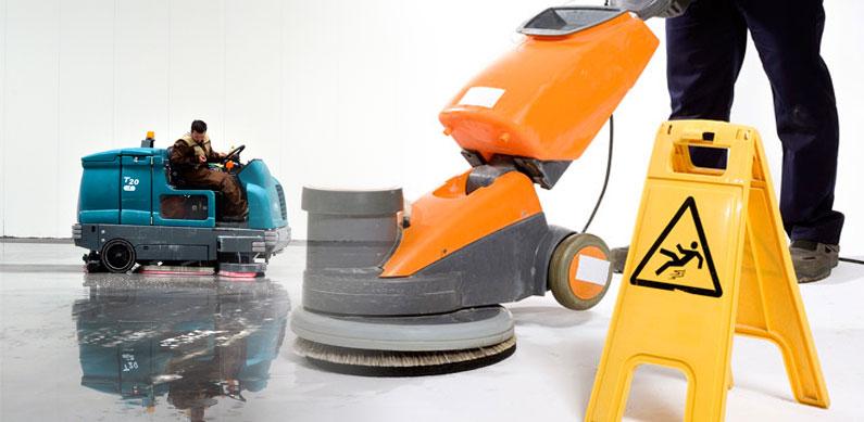 articulo sobre maquinaria para limpieza industrial