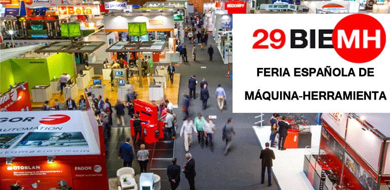 Feria bienal maquina herramienta