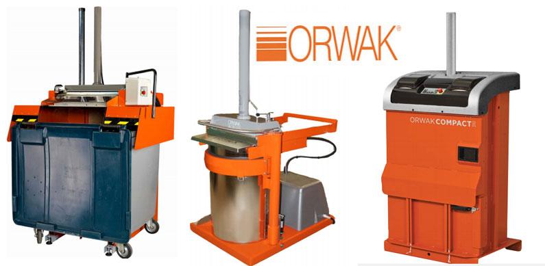 compactadoras marca orwak