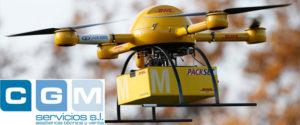 Los drones en la industria logística