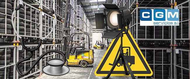 la importancia de la iluminación en manipulación de carretillas elevadoras