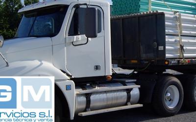 Principales características de los camiones de carga pesadas